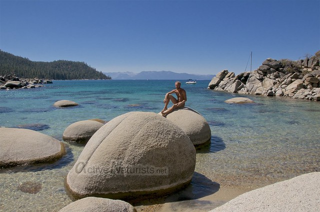 naturist 0006 Secret Cove, Lake Tahoe, Nevada, USA