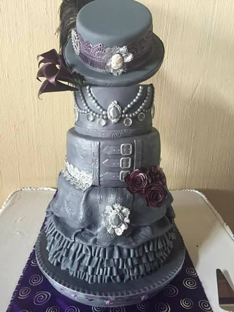 Cake by Beverley Sharp of The Cake Boutique Benoni