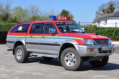 Kilkenny Fire & Rescue Service 2003 Mitsubishi L200 KKFRS L4V 03KK2492
