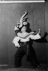 Portrait of a two performers, 'De Coppola'(?)