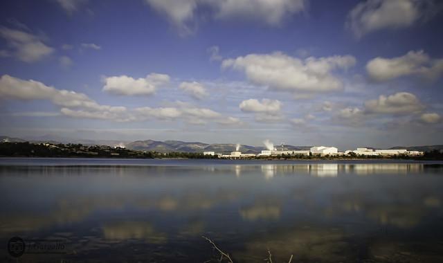 Nubes y Reflejos en Maria Cristina