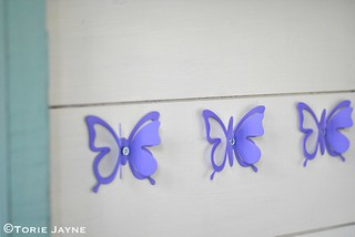 Butterfly hooks