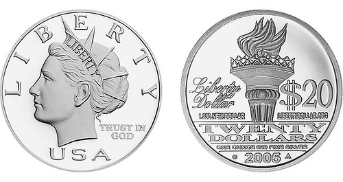2005 Liberty Dollar