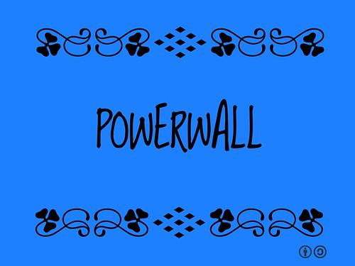 Buzzword Bingo: Powerwall