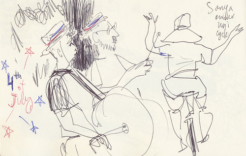 Sketchbook #91: About 4th of July