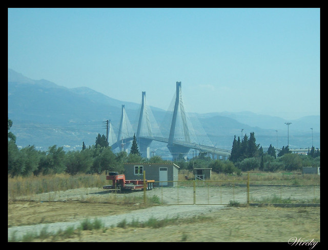 Grecia Olimpia Delfos - Puente Jarilus Tricupis