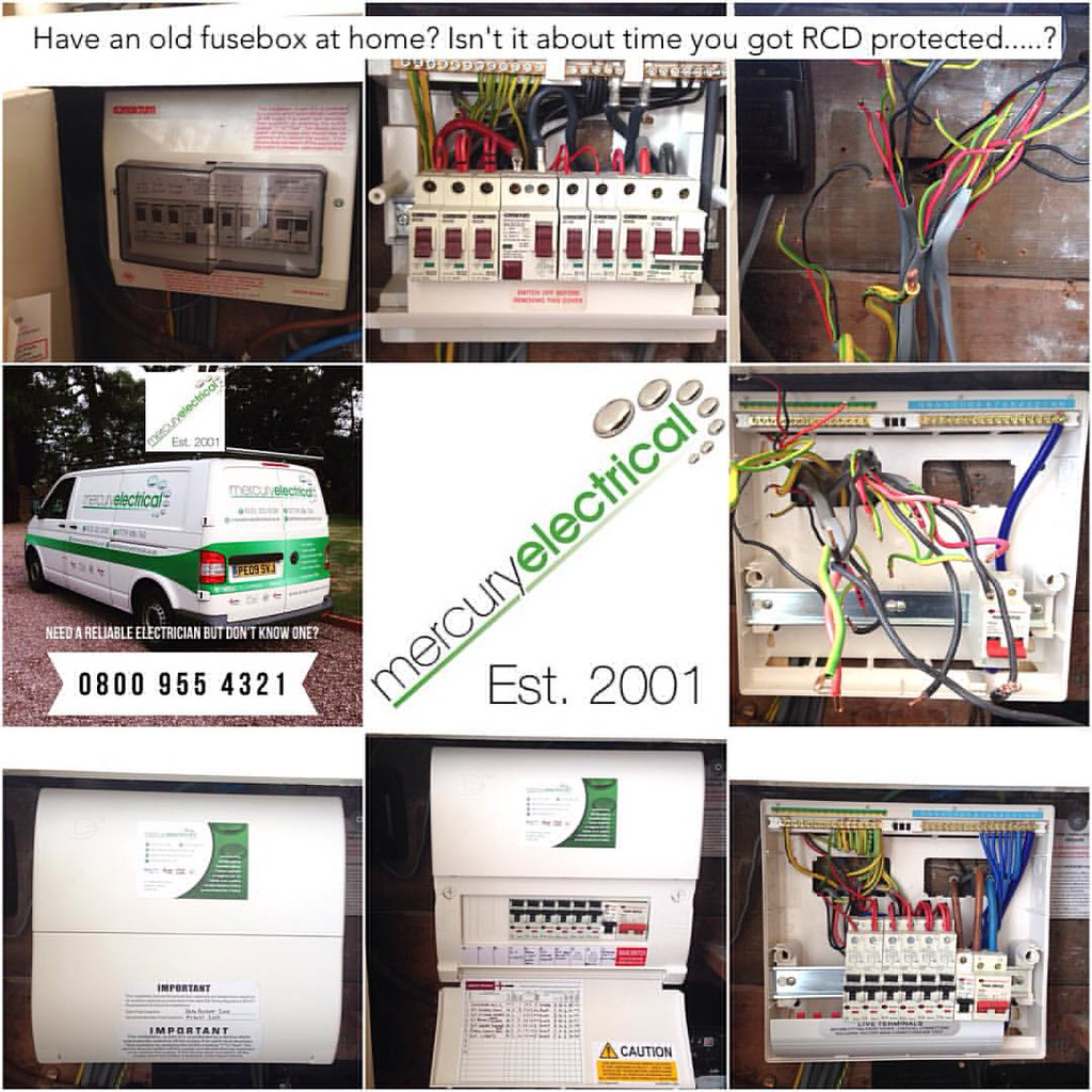 Another Neat New Rcbo Consumer Unit Fitted Yesterday That Gives Rcd On Fuse Box Individual Protection To Each House