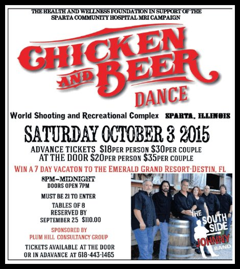 Chicken and Beer 10-3-15