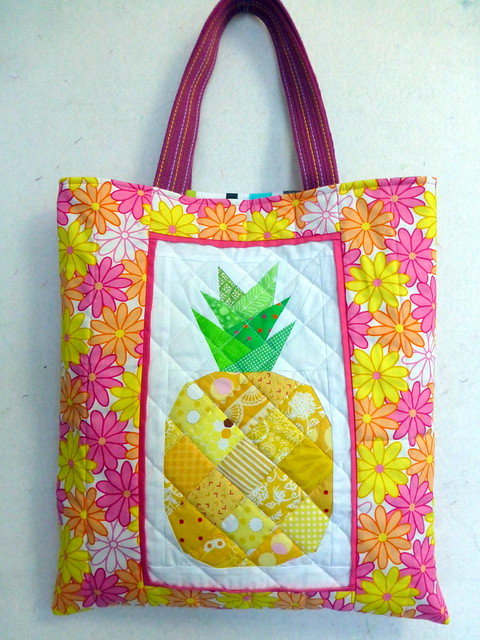 Pineapple Bag for Quilt Now