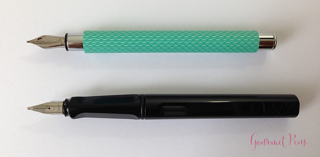 Review Faber-Castell Ambition OpArt Aqua Fountain Pen @goldspotpens @FaberCastell (7)