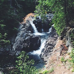 stream, waterfall, water feature, river, body of water, watercourse, ravine, state park, jungle,