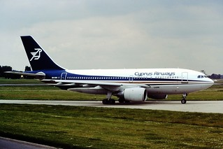 5B-DAS A310 Cyprus Airways BHX 02-07-1987
