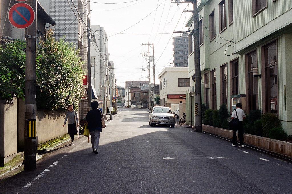 広大附属学校前 広島 Hiroshima 2015/09/01 一個巷口的黃昏。  Nikon FM2 / 50mm Kodak UltraMax ISO400 Photo by Toomore