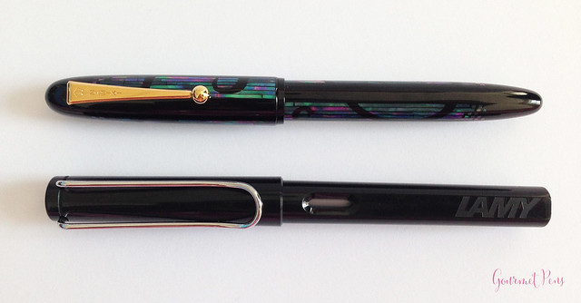 Review Namiki Yukari Nightline Moonlight Fountain Pen @CouronneDuComte (6)