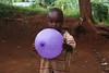 Treasure and her balloon
