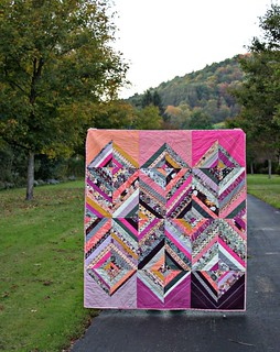 Rock 'n Romance Diamond Strings Quilt