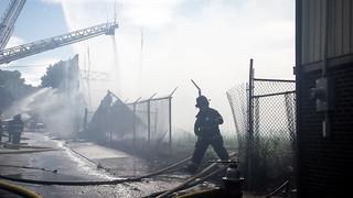 Duck Factory Fire