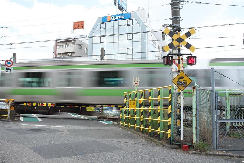 Tokyo Train Story 山手線の踏切 2015年10月4日
