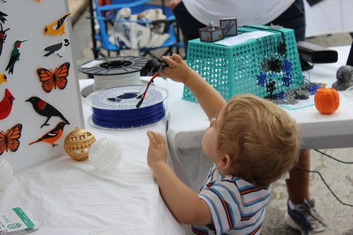 Occoquan Craft Show 2015 - Dyson Plays with Hot End