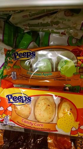 Special Halloween Peeps.