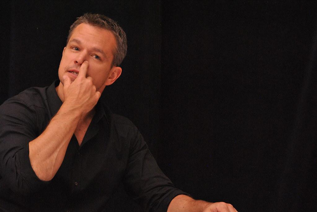 Мэтт Деймон — Пресс-конференция «Марсианин» на «TIFF» 2015 – 33