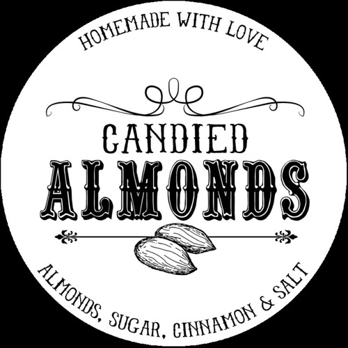 Candied Almonds Printable