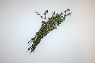 04 - Zutat Thymian / Ingredient thyme