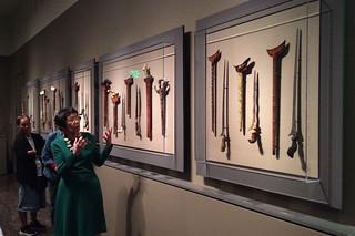 Filipino American Month - Asian Art Museum docent tour Filipino arts dagger