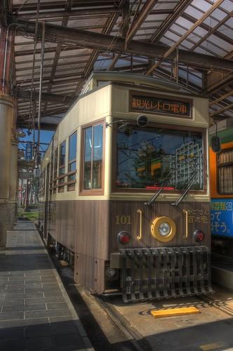 Tramcars at Kagoshima on OCT 24 (27)