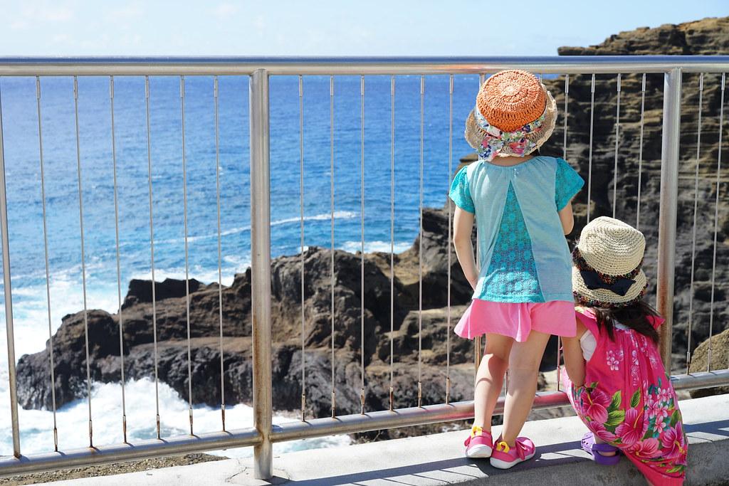 ハロナ・ブローホール(潮吹き岩)