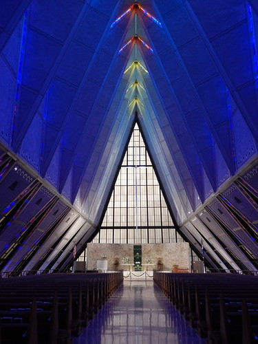US Air Force Academy - chapel - 2
