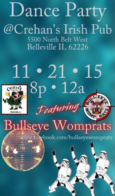 Bullseye Womprats 11-21-15