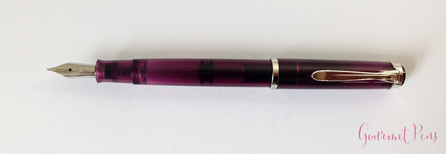 Review Pelikan M205 Classic Amethyst Fountain Pen @AppelboomLaren (6)
