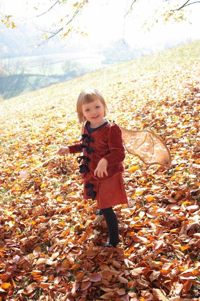 Petite fée des bois, costume pour petite fille par Green Martha