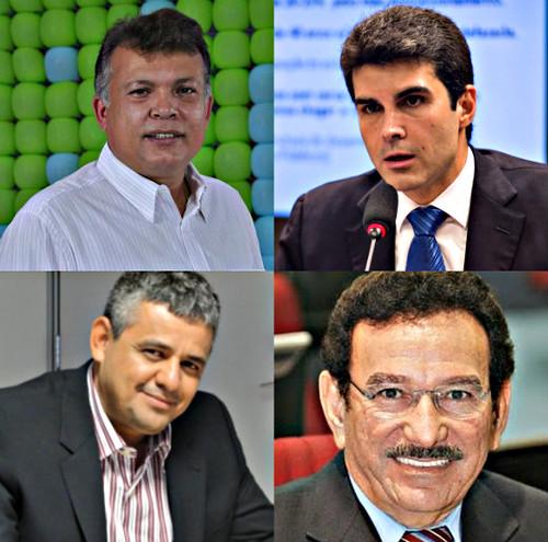 Barrudada, ministro Helder, Eraldo e Rocha
