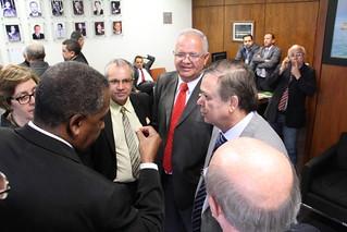 Deputados Walney Rocha e Jovair Arantes recebem representantes da ANTEFFA