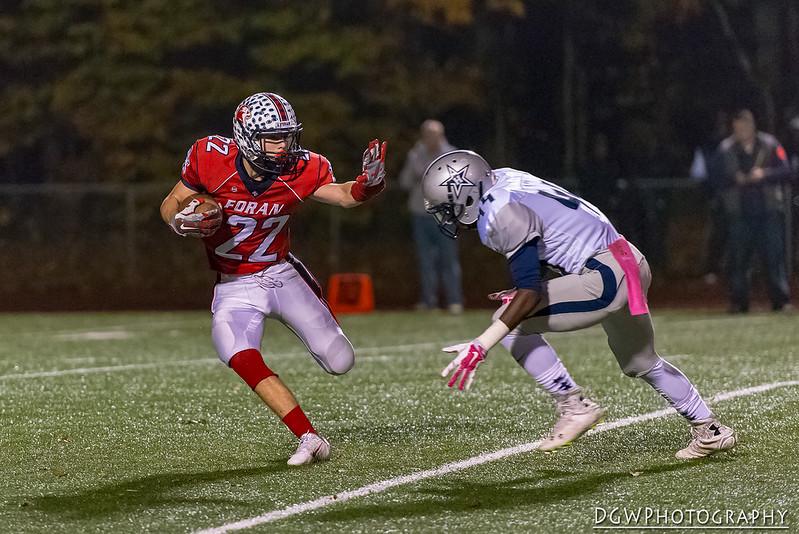 Foran High vs. Hillhouse - High School Football