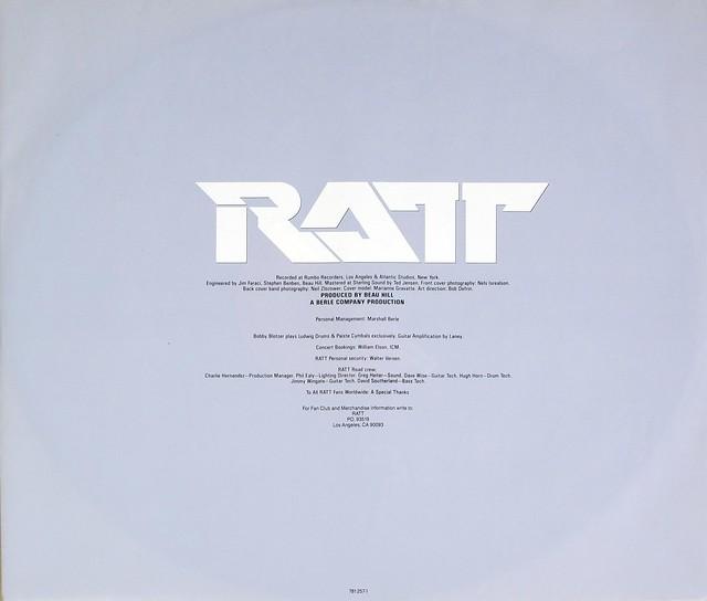 "RATT INVASION OF YOUR PRIVACY OIS 12"" VINYL LP"