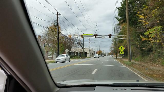 20151130_1405372015-11-30 Monroe Drive beltline pedestrian crosswalk calming with signal
