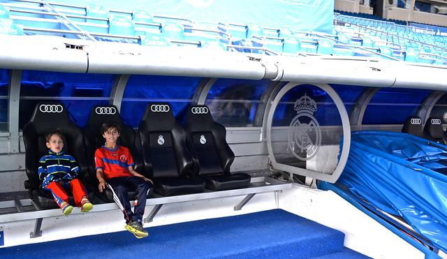 seats - Real Madrid Stadium Tour - Tour Bernabeu