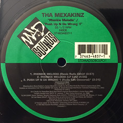 THE MEXAKINZ:PHONKIE MELODIA(LABEL SIDE-A)