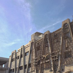 Crazy 60's architecture - design details from #kuwait