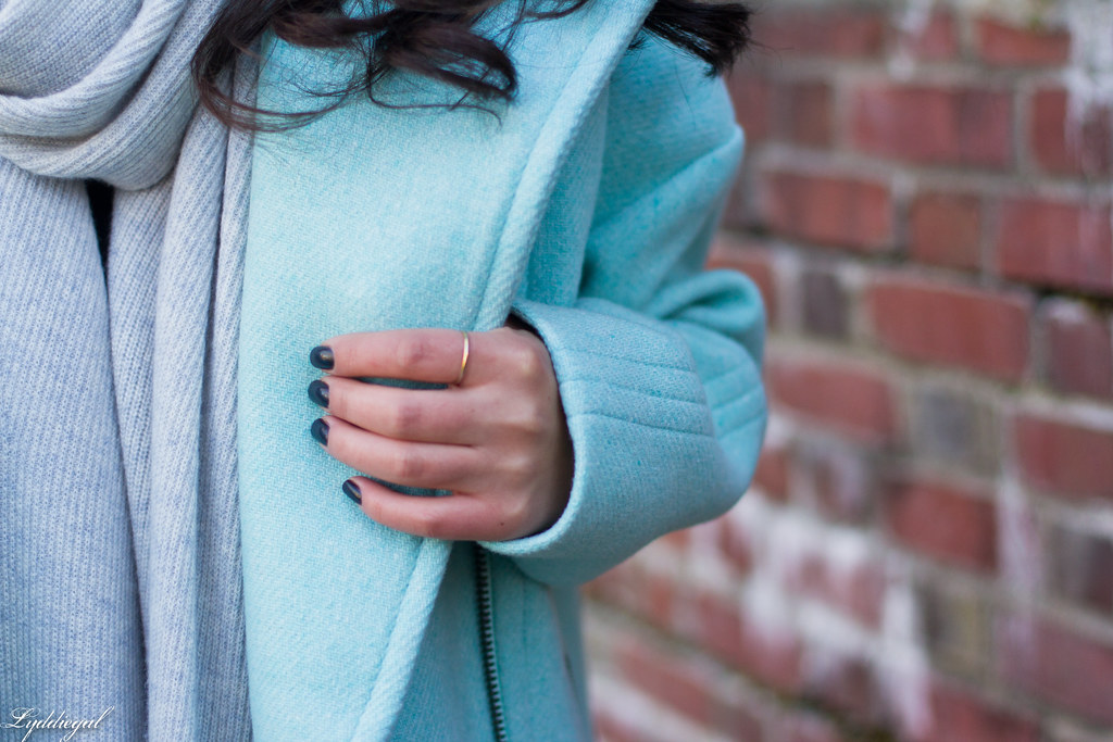 mint cocoon coat, grey scarf, leopard pumps-8.jpg
