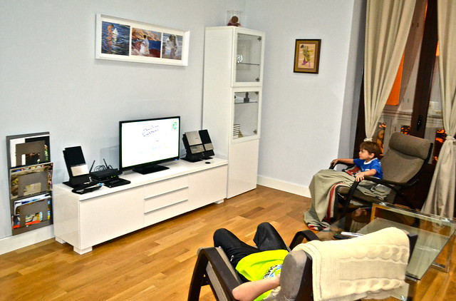 Solaga Vacation rental Malaga - living room