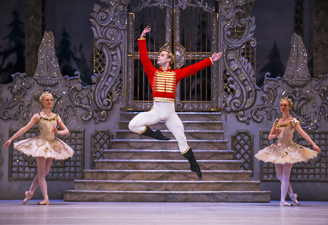 Alexander Campbell as Hans Peter in The Nutcracker © 2015 ROH. Photograph by Tristram Kenton