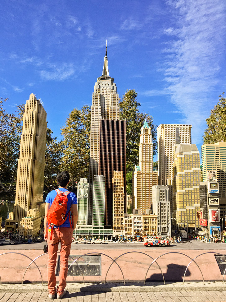 Lego NYC - If you are a travel lover, you will want to take this around the world tour at Legoland California Resort.