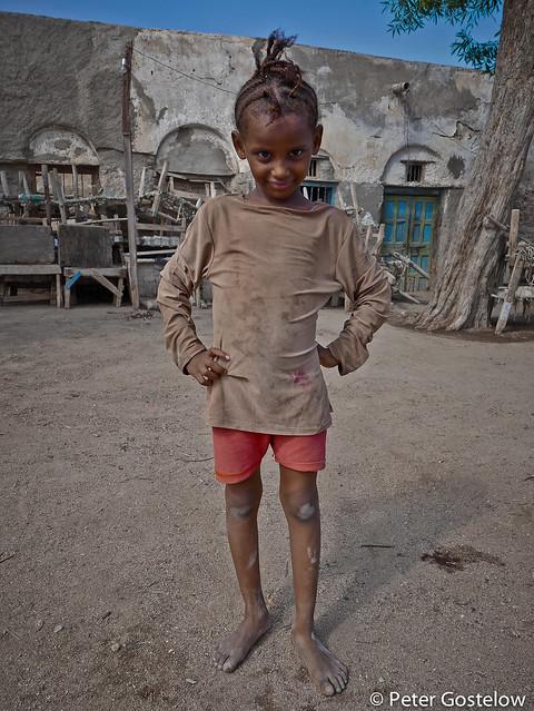 Young girl in Berbera