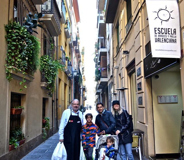 Escuela de arroces y paella, Paella Cooking Class, Valencia Spain