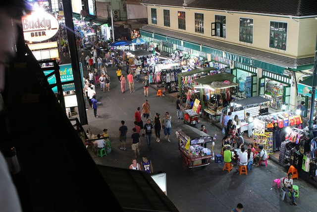 De beroemde Khao San Road