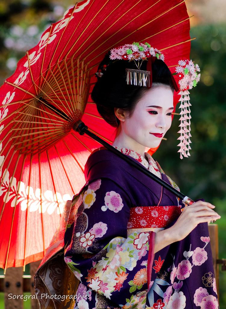 Geisha Geisha Gion Kyoto Japan Sonia Renaudineau Flickr